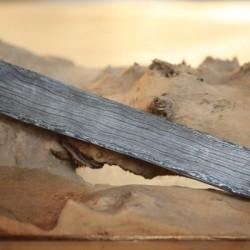 4mmx4cmx25cm Saç Modeli Damascus Çelik