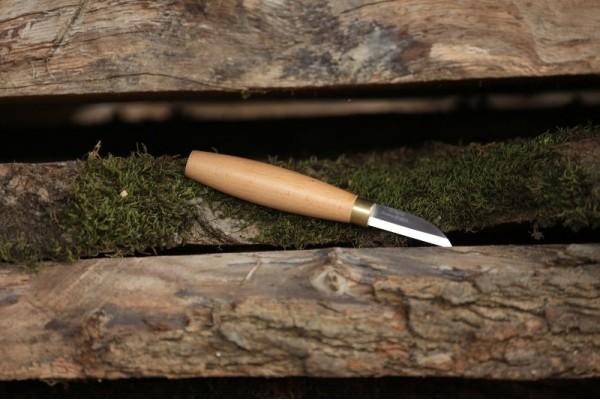 Ahşap Kuksa Kaşık Oyma Bıçağı-1 Küt Burun Kısa