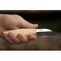 Ahşap Kuksa Kaşık Oyma Bıçağı-3 inci Küt Kısa