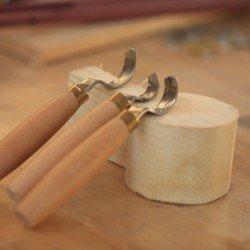 Kaşık Yontma Bıçağı 3lü'set
