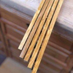 10mmx10mmx100cm Dut Ağacı Çıta 1Adet