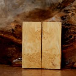 1cmx4cmx13cm Maple Burl  1 Çift