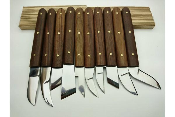 Chip Carving 10 lu Set