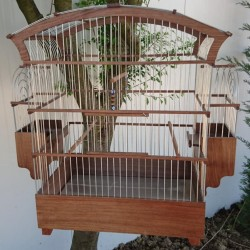 Kanarya-Muhabbet Kuşu Kafesi