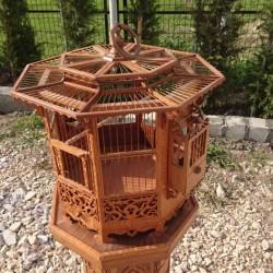 Kubbeli Sehpalı |Saka-Kanarya KuşKafesi|