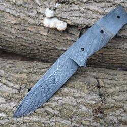 Ozul-45 Damascus Bıçak Namlusu