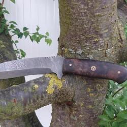 Ozul Knives 2 Damascus Av Bıçağı