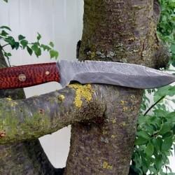 Ozul Knives 3 Damascus Av Bıçağı