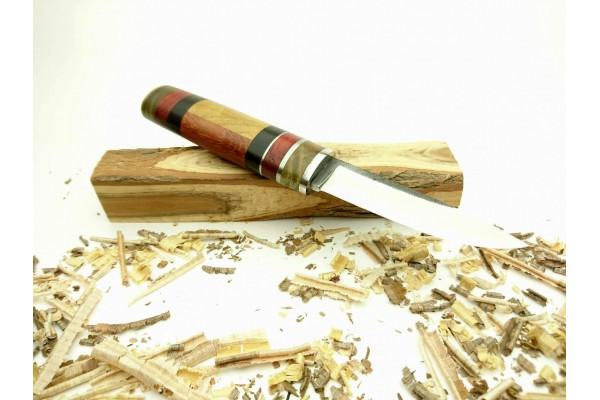 Ozul Knives-5 Puukko Av Bıçağı D2